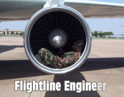 Flightline engineer