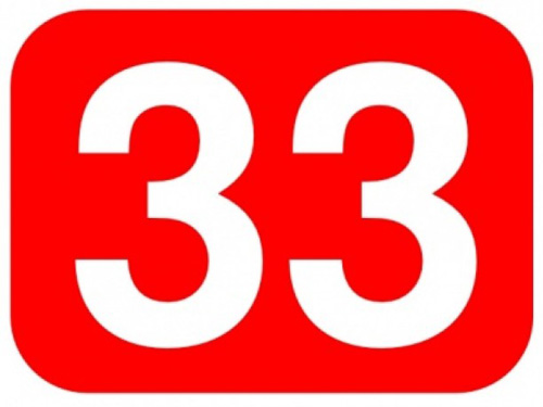 red-33-number