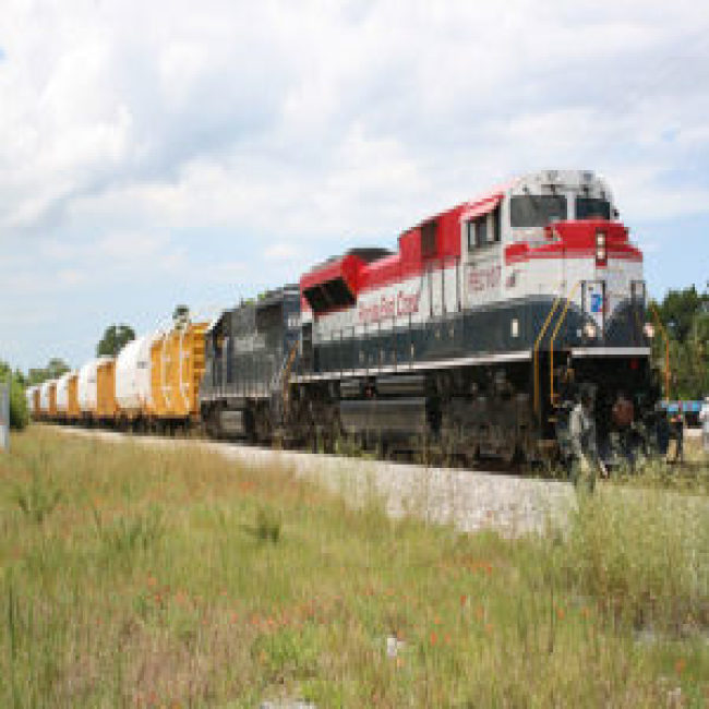 The US standard railroad gauge is 4 feet, 8 5 inches  That's