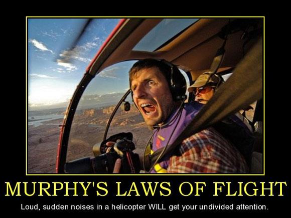 Murphy's Law of Flight - Poster - Aviation Humor