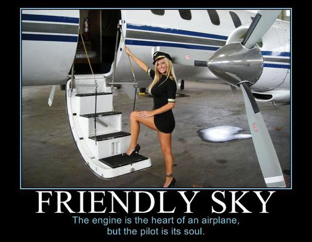 Friendly Sky Aviation Humor