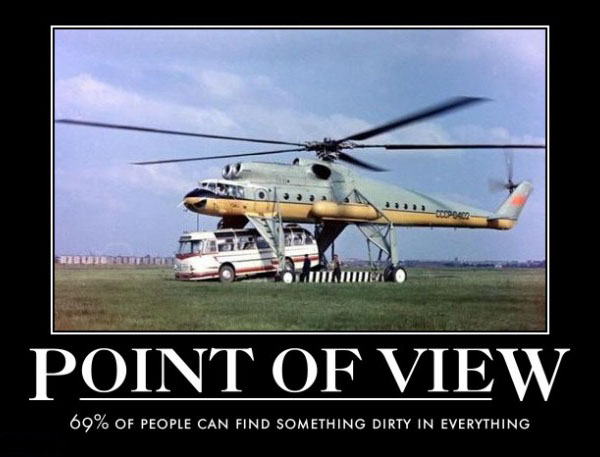 Point of view - Aviation Humor
