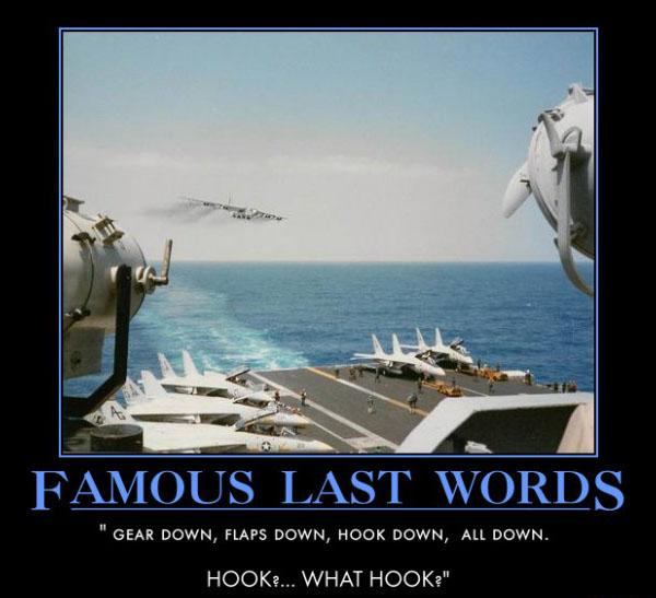 Famous Last Words | Aviation Humor