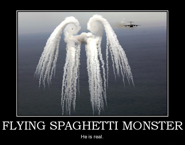 flying spaggetti monster