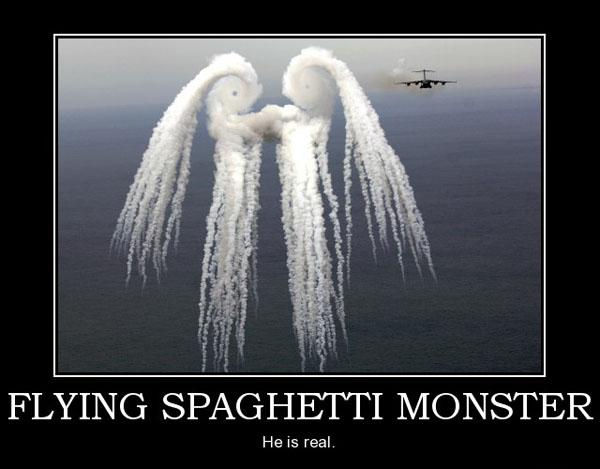 flying spghetti monster