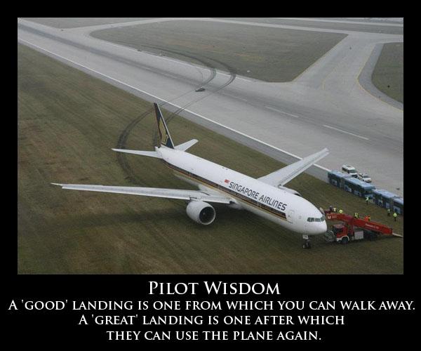 Pilot Wisdom - Aviation Humor