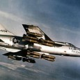 During the Vietnam War there was a pilot flying an F-105, he got shot down but ejected safely and watched his plane crash. He got picked up within minutes by...
