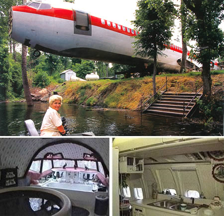 The Boeing 727 House