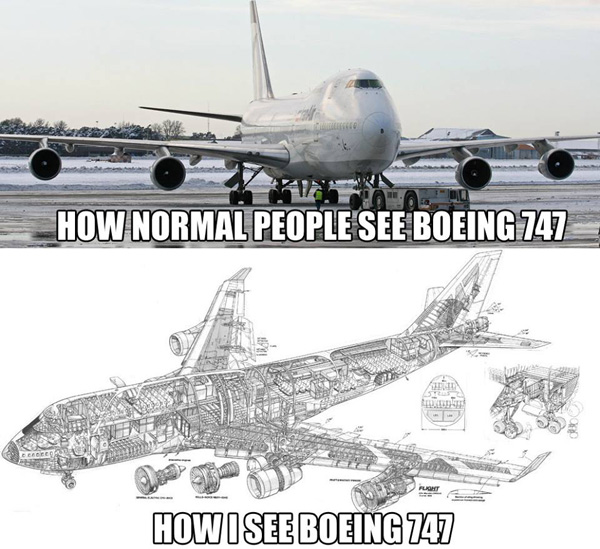 Are We Different from Other People? - Aviation Humor
