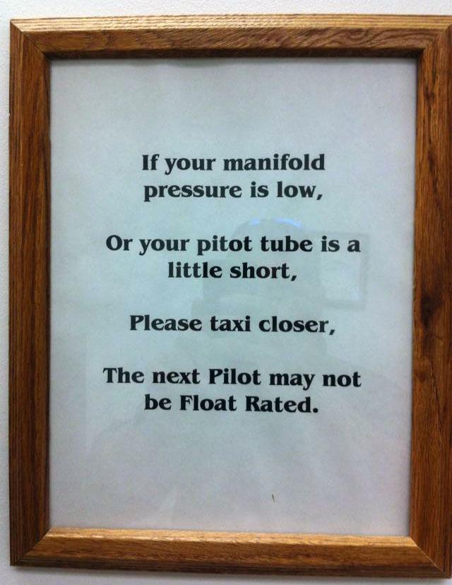 Pilots-toilet