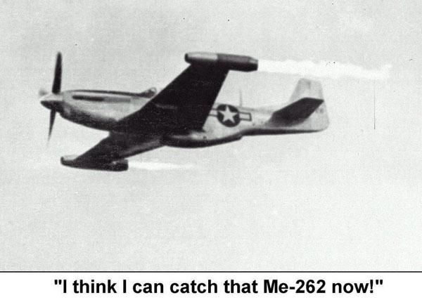 P-51 vsMe262