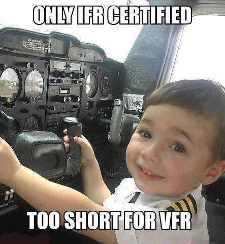 Only IFR Certified