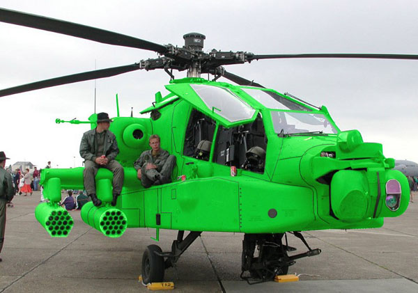 saint patricks day helicopter