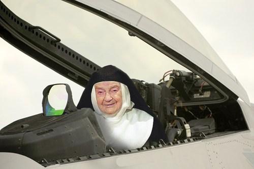 Air Force Nun