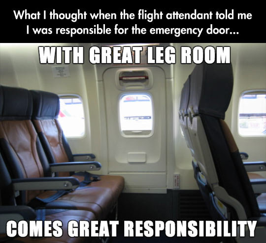 funny-airplane-responsibility-door-emergency-Nothing is Free