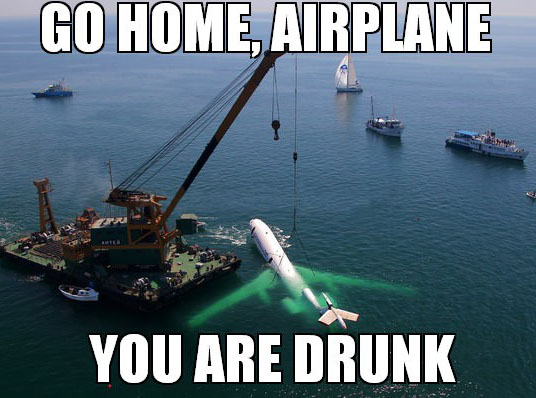 go home airplane