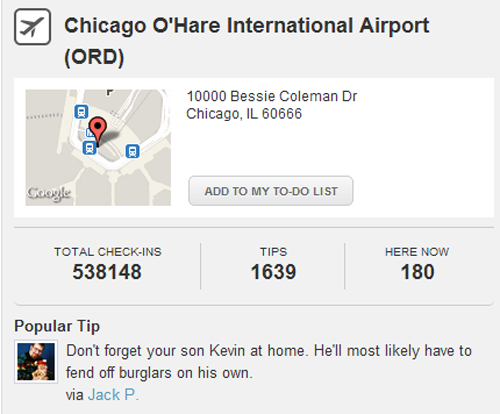 Chicago O'Hare Airport Pro Tip