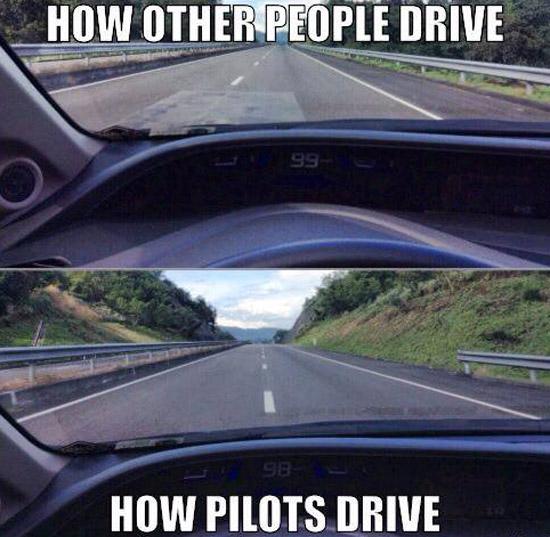 How Pilots Drive