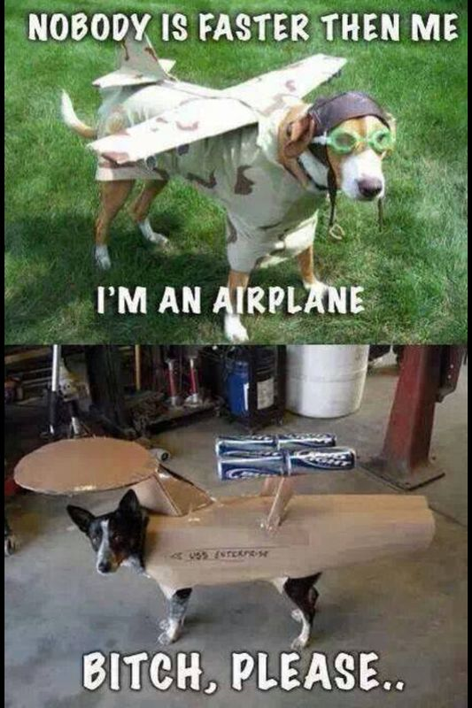I'm an airplane