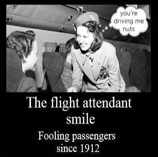 The Flight Attendant Smile