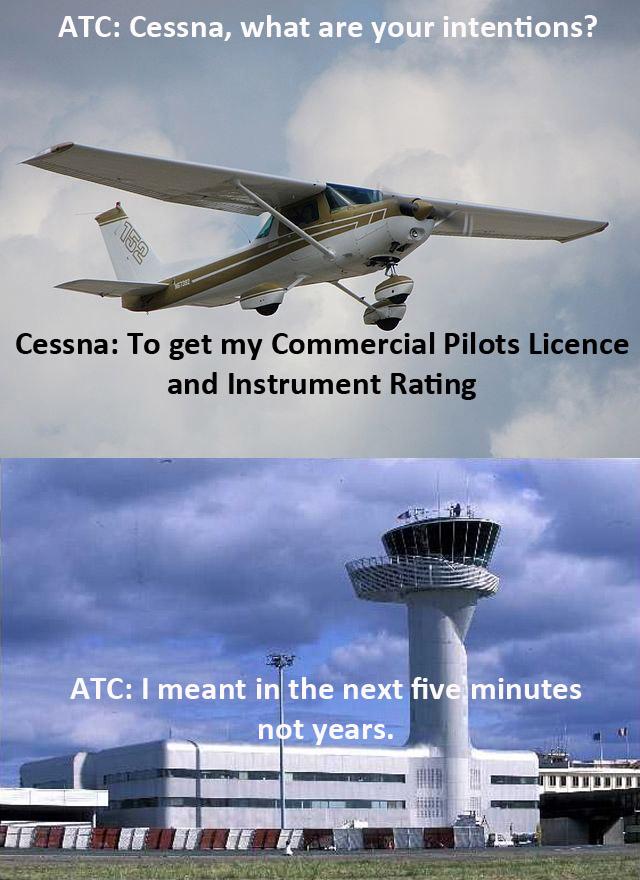 ATC and Cessna