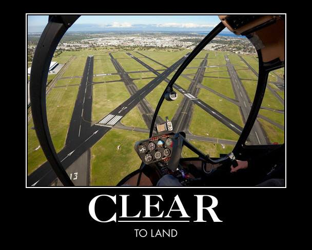 Clear To Land