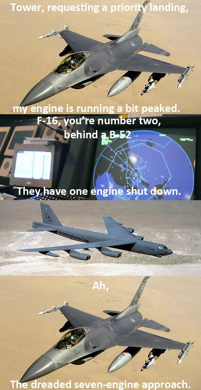 F-16 Emergency Landing