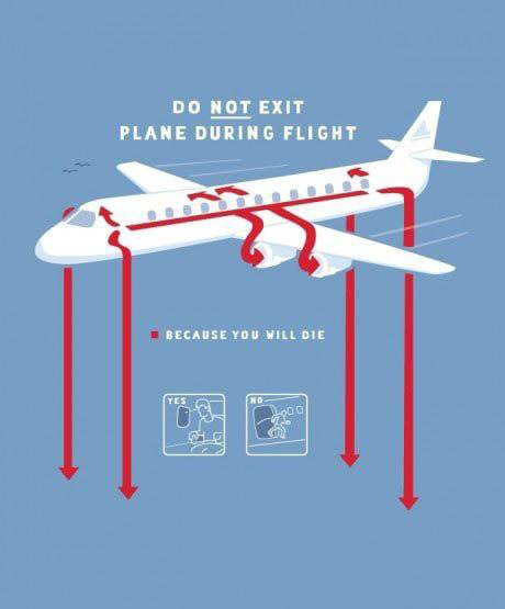 In-Flight safety card
