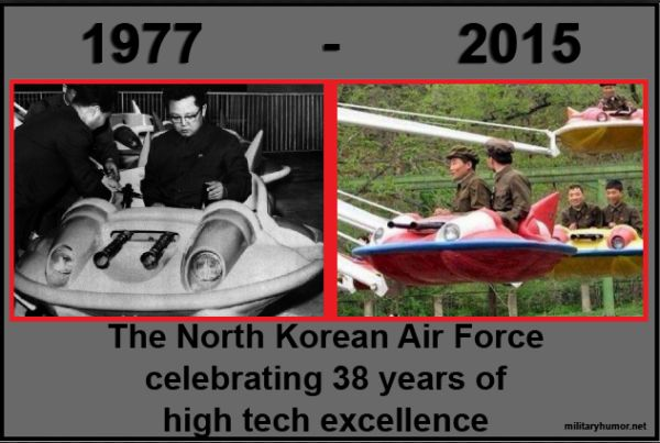 North Korean Air Force Celebration