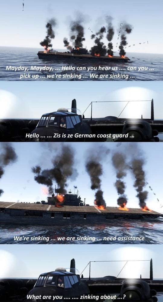 The German Coast Guard's Biggest Problem