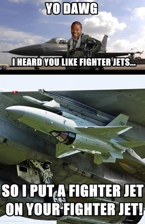 I heard you like fighter jets...