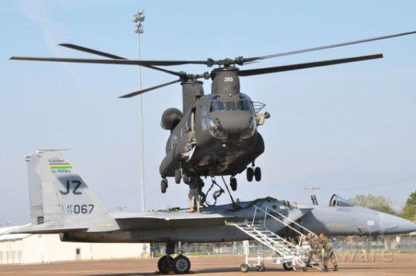 If you work in the Air Force, never leave your plane overnight at an Army owned airfield