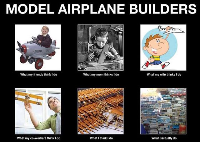 Model Airplane Builders