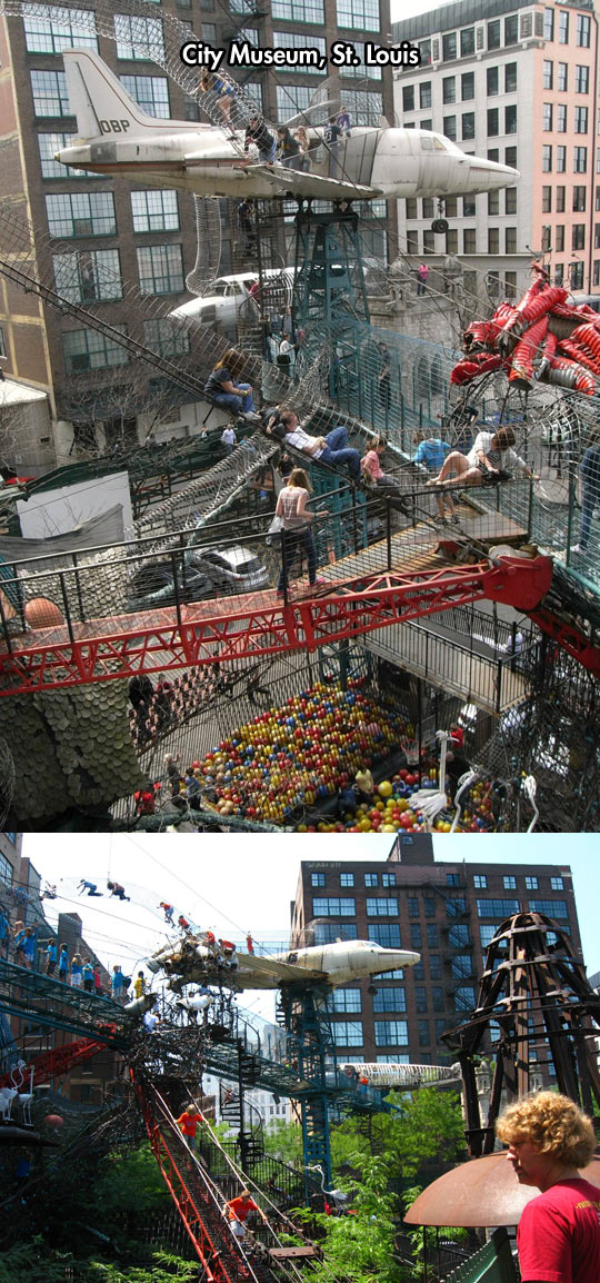 Perfect Playground For Grown Ups