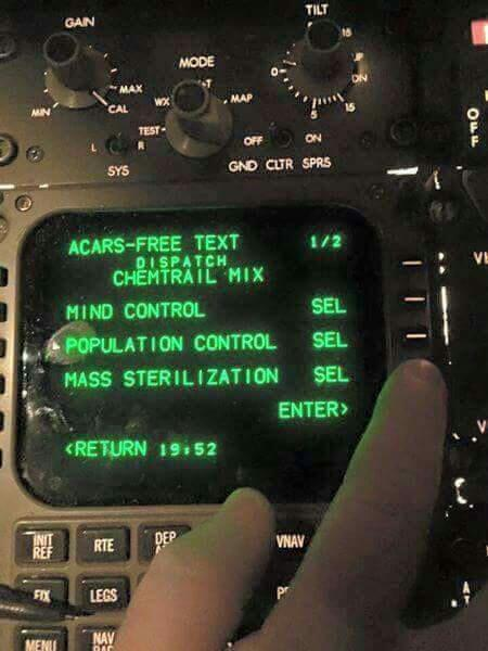 Chemtrail Controls