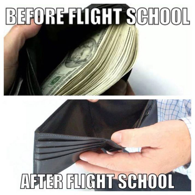 The Flight School Effect on Your Wallet