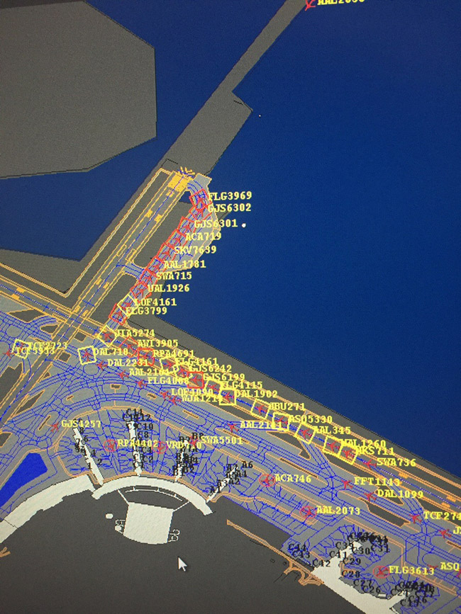 This is what happens when runway 13 needs potholes fixed at LGA