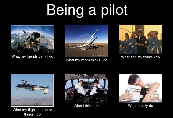 Being-a-pilot