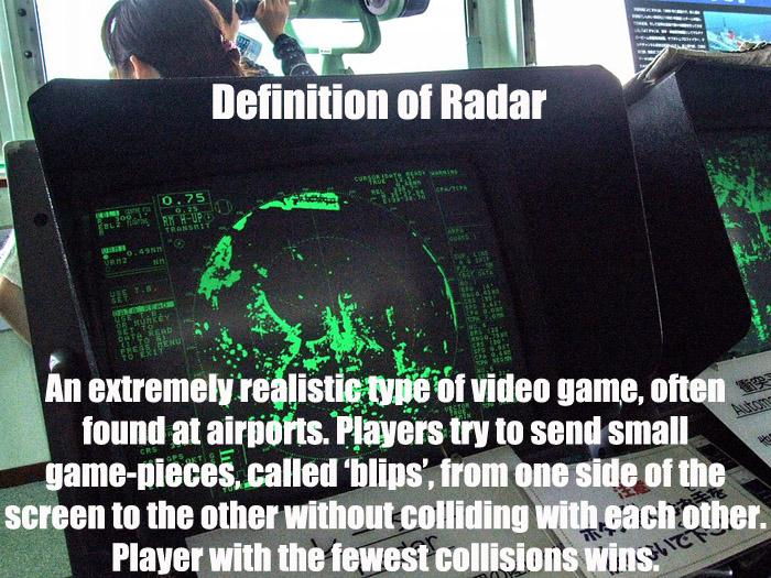 Definition of Radar