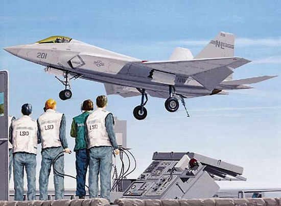 F-35C concept for JAST