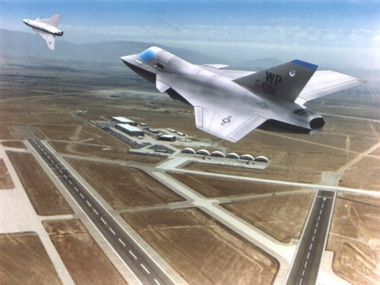 Northrop Grumman's JAST-JSF design 2