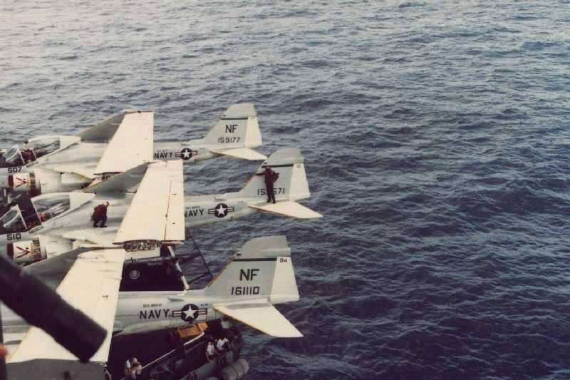 USS Midway hide and seek champions 1973.