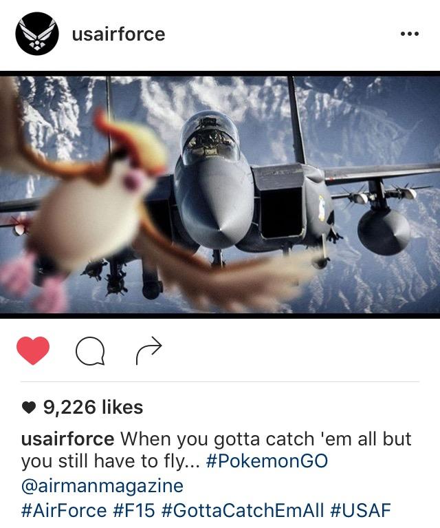 USAF on Instagram