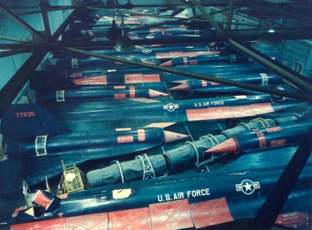 Hangar full of SR-17 Blackbirds