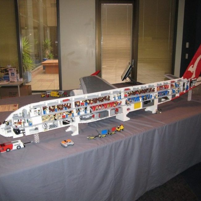 Lego enthusiast builds Airbus A380 with 35,000 bricks Aviation Humor