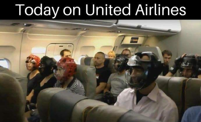 Today On United Airlines