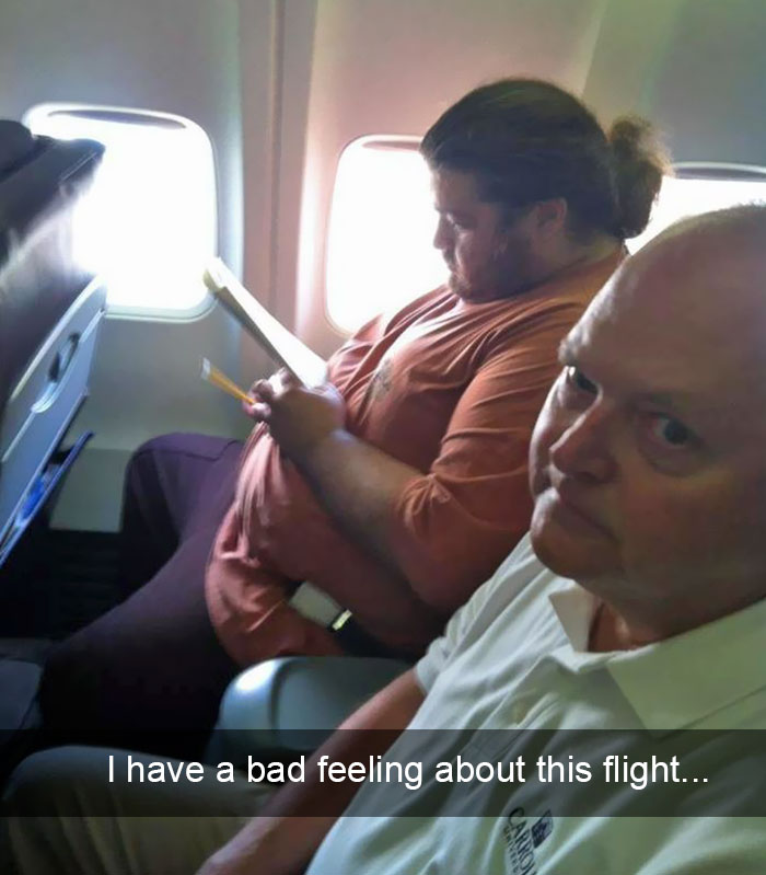 35 of the funniest things that have ever happened on a plane