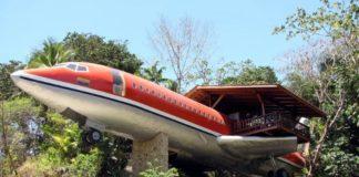 Boeing 727 Hotel Costa Rica