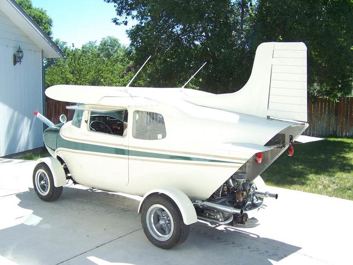 Graiglist Gold - Cessna 172 on a VW Bug chassis - Aviation Humor