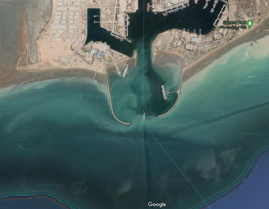 Iranian aircraft carrier